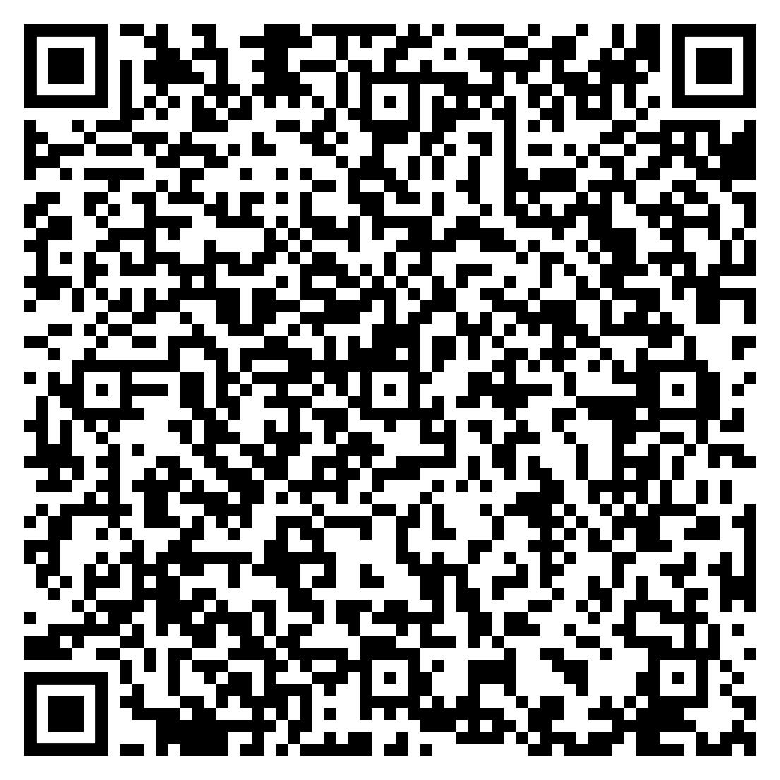 Johannes Hirsch Visitenkarte als QR Code